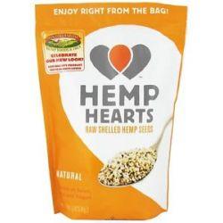 Manitoba Harvest Hemp Hearts Natural Raw Shelled Hemp Seed 1 Lb