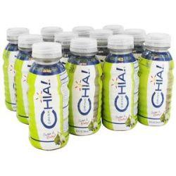 Drink Chia Whole Omega 3 Superfood Drink Honeysuckle Pear 12 Oz