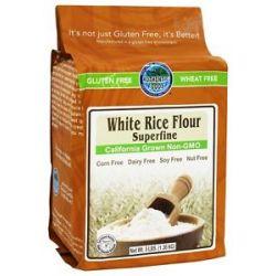Authentic Foods Gluten Free Superfine White Rice Flour 3 Lbs