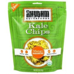 Rhythm Superfoods Organic Kale Chips Raw Mango Habanero 2 Oz