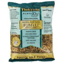 Tinkyada Pasta Brown Rice Pasta Fusilli with Rice Bran 16 Oz