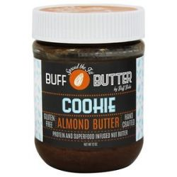 Buff Bake Buff Butter Gluten Free Almond Butter Cookie 12 Oz