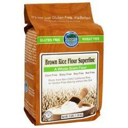 Authentic Foods Gluten Free Superfine Brown Rice Flour 3 Lbs