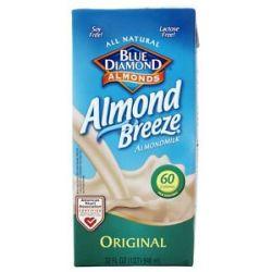 Blue Diamond Growers Almond Breeze Almond Milk Original 32 Oz