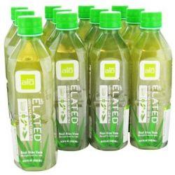 Alo Original Aloe Drink Elated Aloe Olive Leaf Tea 16 9 Oz
