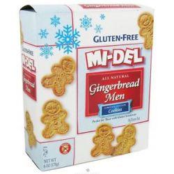 MI Del All Natural Gingerbread Men Cookies Gluten Free 6 Oz