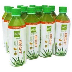 Alo Original Aloe Drink Bright Light Aloe Vera Orange Passion Fruit 16 9