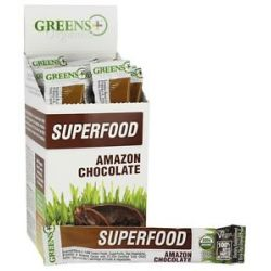 Greens Plus Organics Superfood Stick Pack Box Amazon Chocolate 15 Stick S