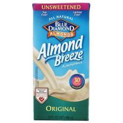 Blue Diamond Growers Almond Breeze Almond Milk Unsweetened Original 32 Oz