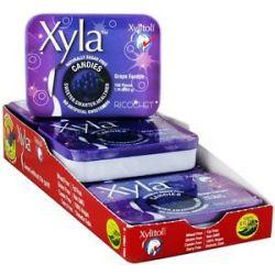 Xylitol USA Xyla Naturally Sugar Free Candies Grape Escape 100 Piece S