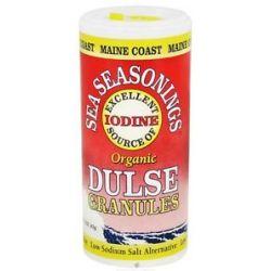 Maine Coast Sea Vegetables Sea Seasonings Organic Dulse Granules 1 5 Oz