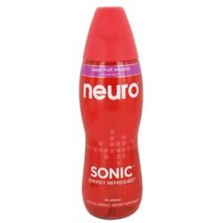 Neuro Sonic Lightly Carbonated Nutritional Supplement Drink Super Fruit