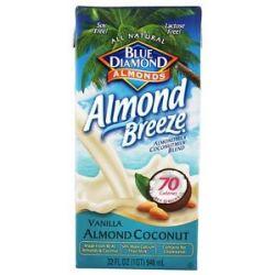 Blue Diamond Growers Breeze Almond Milk Vanilla Almond Coconut 32 Oz