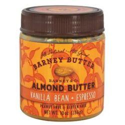 Barney Butter All Natural Almond Butter Vanilla Bean Espresso 10 Oz