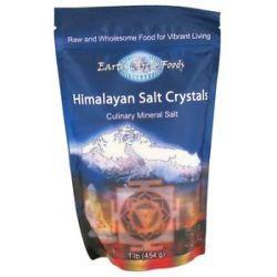 Earth Circle Organics Himalayan Culinary Mineral Salt Crystals 1 Lb