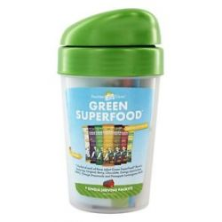 Amazing Grass Green Superfood Variety Flavor Packets with Shaker Cup 7 x 8g