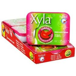 Xylitol USA Xyla Naturally Sugar Free Candies Watermelon Splash 100 Piece S