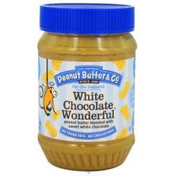 Peanut Butter Co White Chocolate Wonderful Peanut Butter Blended with Sweet