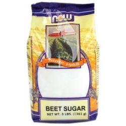 Now Foods Beet Sugar 3 Lbs