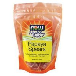 Now Foods Papaya Spears 12 Oz