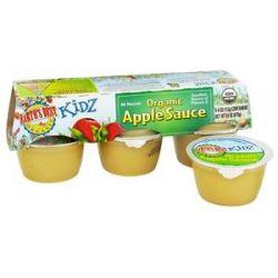 Earth's Best Organic Apple Sauce 6 Cup S