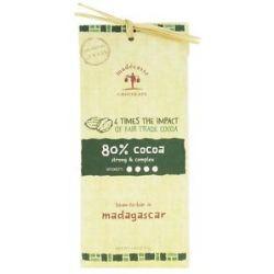 Madecasse Chocolate Bar 80 Cocoa 2 64 Oz