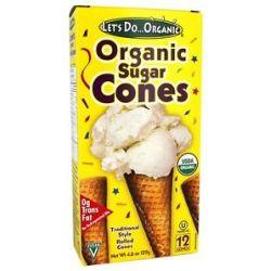 Let's do Organic Sugar Cones 4 6 Oz