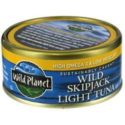 Wild Planet Wild Skipjack Light Tuna 5 Oz