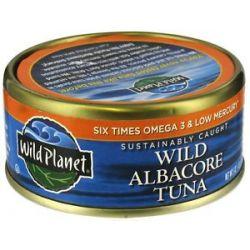 Wild Planet Wild Albacore Tuna 5 Oz