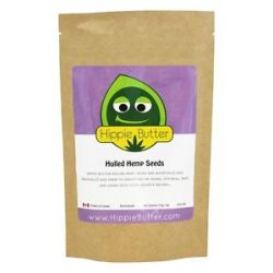 Hippie Butter Hulled Hemp Seeds 4 Oz