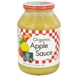 Eden Foods Organic Apple Sauce 25 Oz