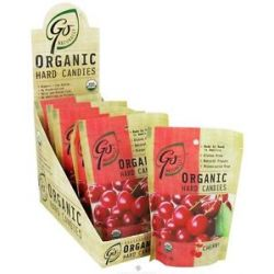 Go Naturally Organic Hard Candies Cherry 3 5 Oz