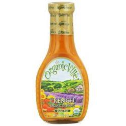 Organicville Organic Salad Dressing French 8 Oz