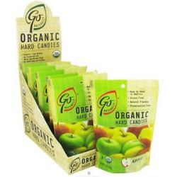 Go Naturally Organic Hard Candies Apple 3 5 Oz