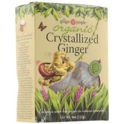 Ginger People Organic Crystallized Ginger 4 Oz