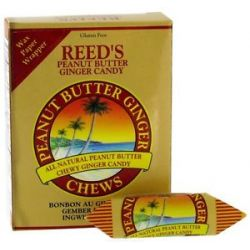 Reed's Candy Chews Peanut Butter Ginger 2 Oz