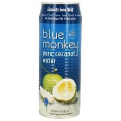 Blue Monkey 100 Pure Coconut Water 17 6 Oz