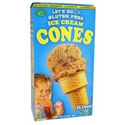 Let's do Gluten Free Ice Cream Cones 1 2 Oz