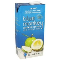 Blue Monkey 100 Pure Coconut Water 1 Liter