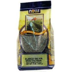 Now Foods Blanco Salvia White Chia Seeds 1 Lb