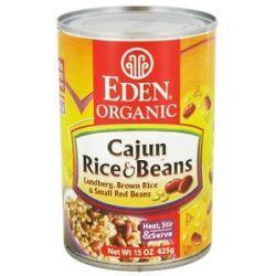 Eden Foods Organic Cajun Rice and Beans 15 Oz