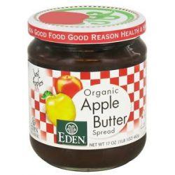 Eden Foods Organic Apple Butter Spread 17 Oz