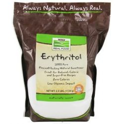Now Foods Erythritol 100 Pure Natural Sweetener 2 5 Lbs