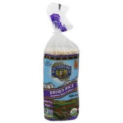 Lundberg Organic Rice Cakes Salt Free Brown Rice 8 5 Oz