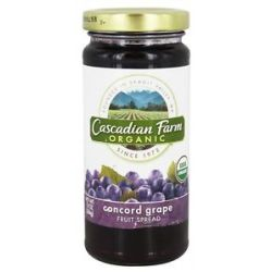 Cascadian Farm Organic Fruit Spread Concord Grape 10 Oz