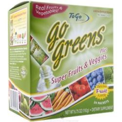 To Go Brands Healthy to Go Go Greens Fruit 24 Packet S