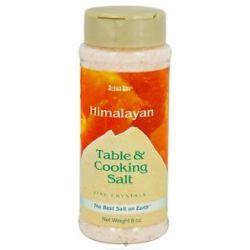 Himalayan Salt Table Cooking Salt by Aloha Bay 6 Oz