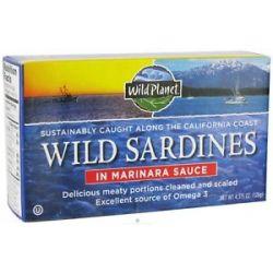 Wild Planet Wild Sardines in Marinara Sauce 4 38 Oz