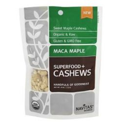 Navitas Naturals Superfood Maca Maple Cashews 4 Oz