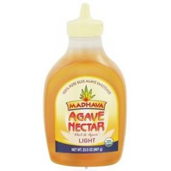 Madhava Natural Sweeteners Agave Nectar Light 23 5 Oz